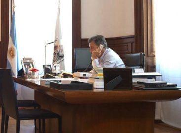 Se dio a conocer la comunicación de Macri con médico riojano