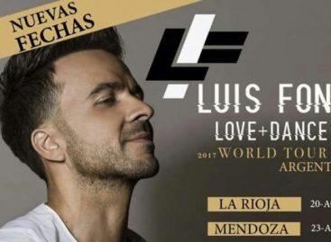 Luis Fonsi, el cantante latino del momento en La Rioja