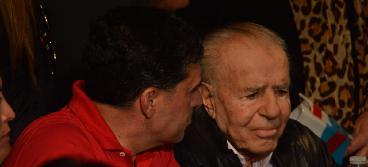 Carlos Menem no podrá ser candidato a senador nacional