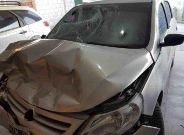 Borracho atropelló tres jóvenes e intentó fugar: era policía