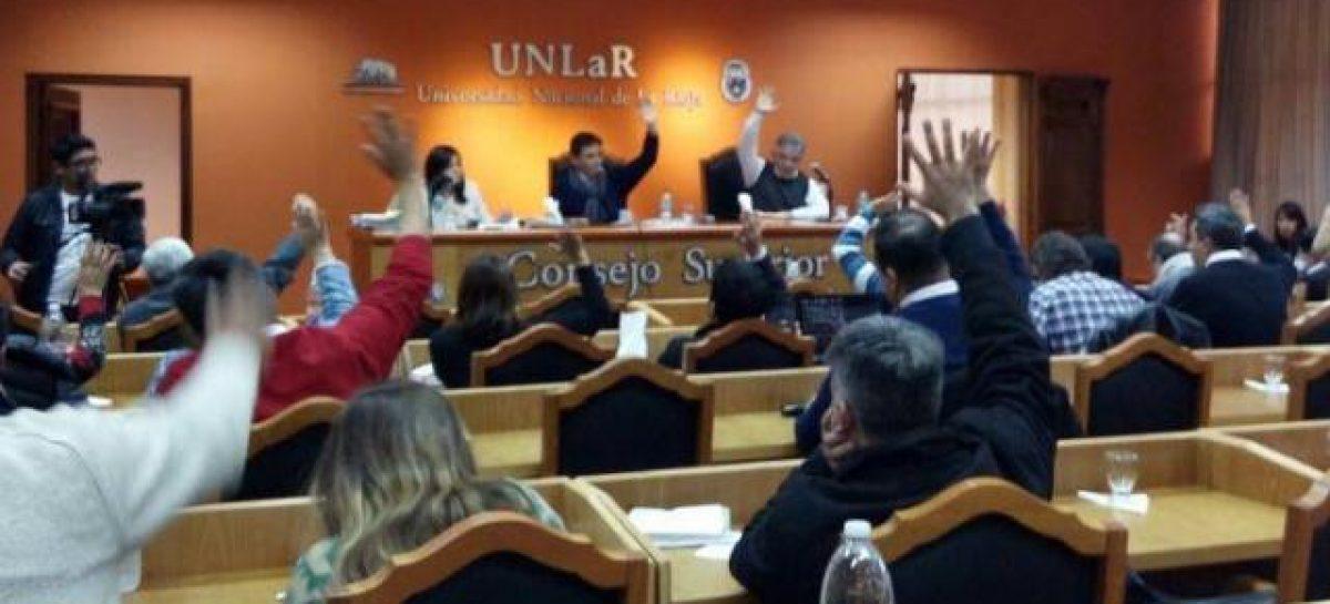 UNLaR. Calderón buscará su reelección el 24 de octubre