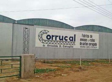 La firma Corrucal desmintió el cierre de planta en Chamical