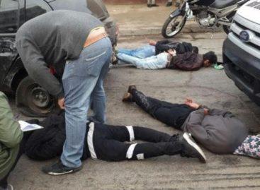 Cinematográfica persecución: cuatro menores detenidos