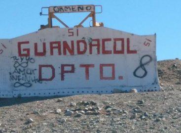 Guandacol. Cuenta regresiva para la consulta popular separatista