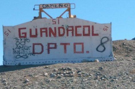 Revés en la consulta para los separatistas de Guandacol