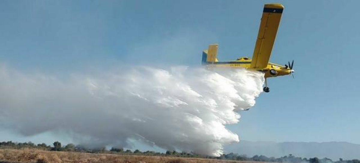 Bomberos lograron sofocar incendio que cubrió 10 hectáreas
