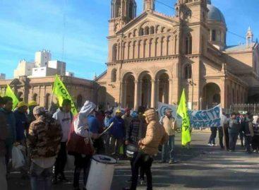 UOCRA marchó en reclamo de la reactivación de la obra pública