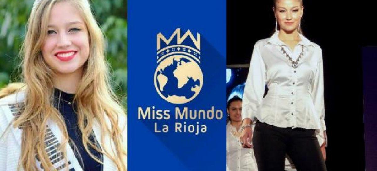 Una riojana va en busca del Miss Mundo Argentina 2017