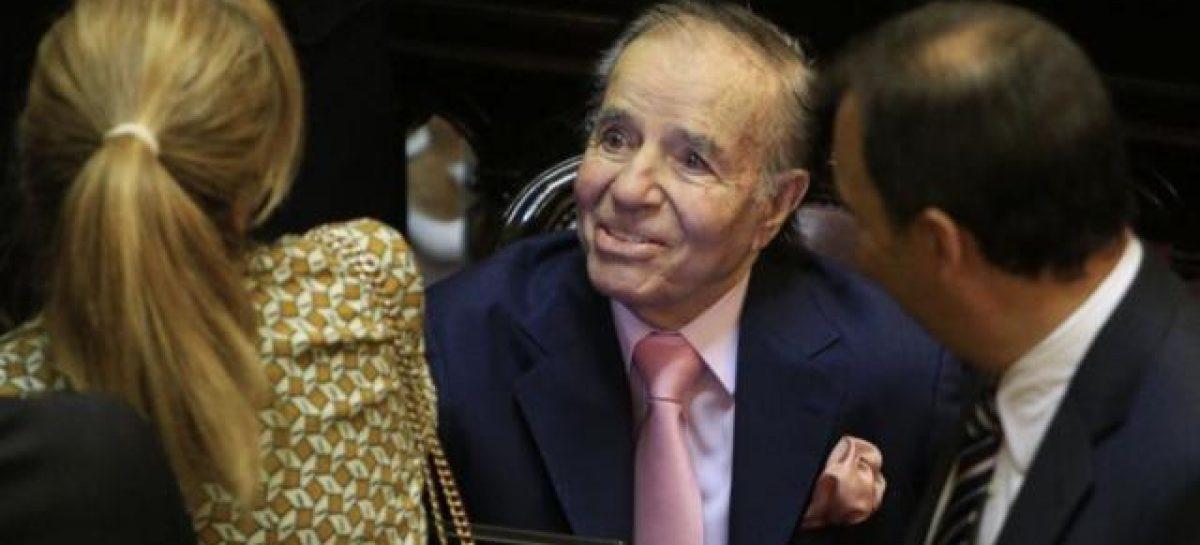 Carlos Menem absuelto en la causa por venta de armas