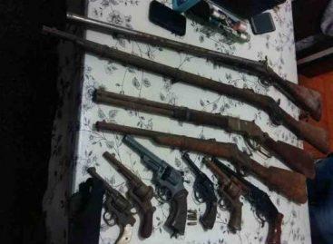 Denuncia por amenazas terminó con secuestro de un arsenal