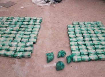 Incautan cocaína, marihuana y hojas de coca a boliviano