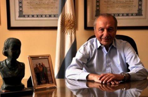 "Eduardo Menem: ""no hay impedimento a candidatura de Carlos"""