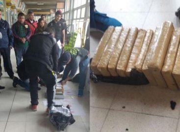 Otra requisa en la terminal detectó 10 kilos de marihuna