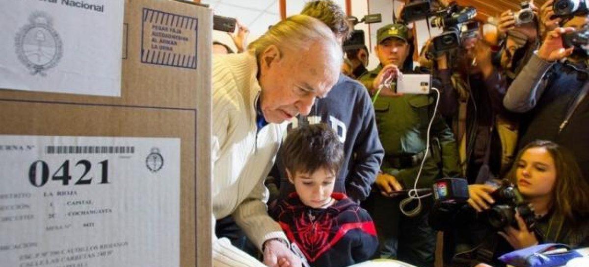 """Rodolfo Barra: """"Menem es candidato en un 99%"""""""