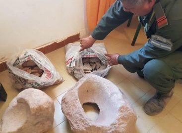 Incautan piezas arqueológicas que datan de más de mil años