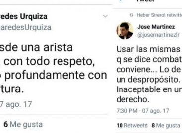 Impugnación a Menem. Repudio del Palacio Ramírez de Velasco