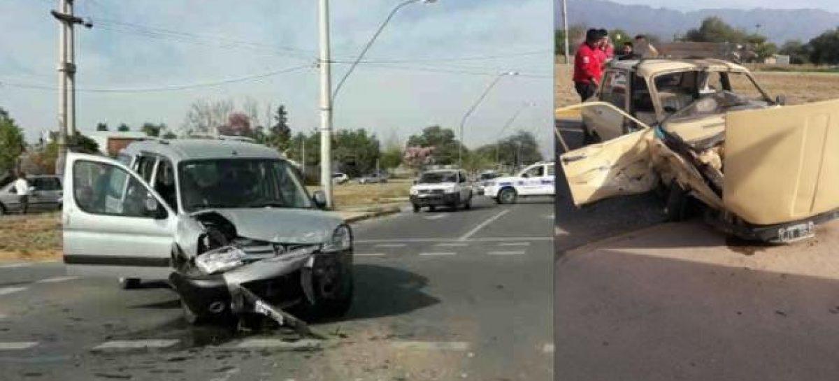 El accidente de cada día, esta vez en avenida 2 de abril