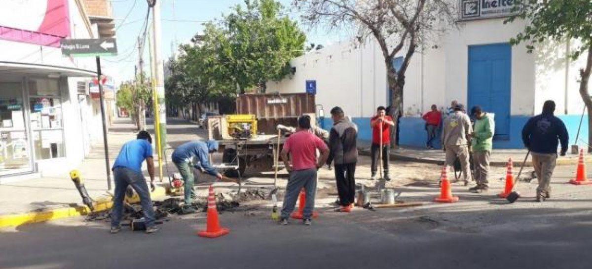 Avanza el plan municipal de bacheo de 1500 cuadras