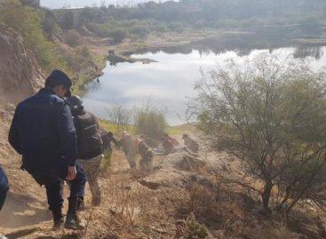 Menor cayó a una laguna en zona del Parque Industrial y murió