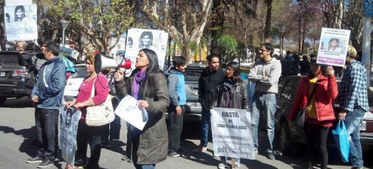 Hubo marcha en Chilecito pidiendo por la aparición de Nazarena