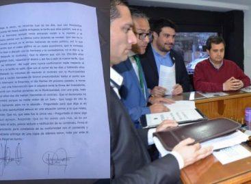 Fiscalía pidió suspensión de un concejal y un funcionario municipal