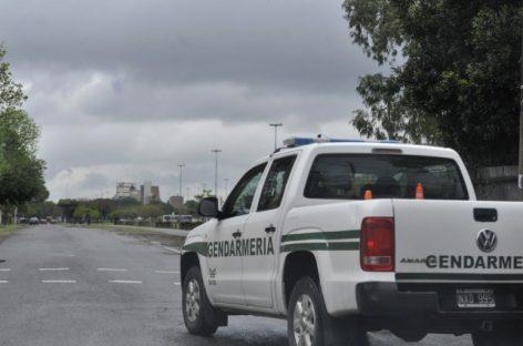 Gendarmería secuestró 7 kilos de pólvora a un riojano