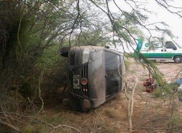 Volcó en ruta 5 una familia de turistas: dos heridos
