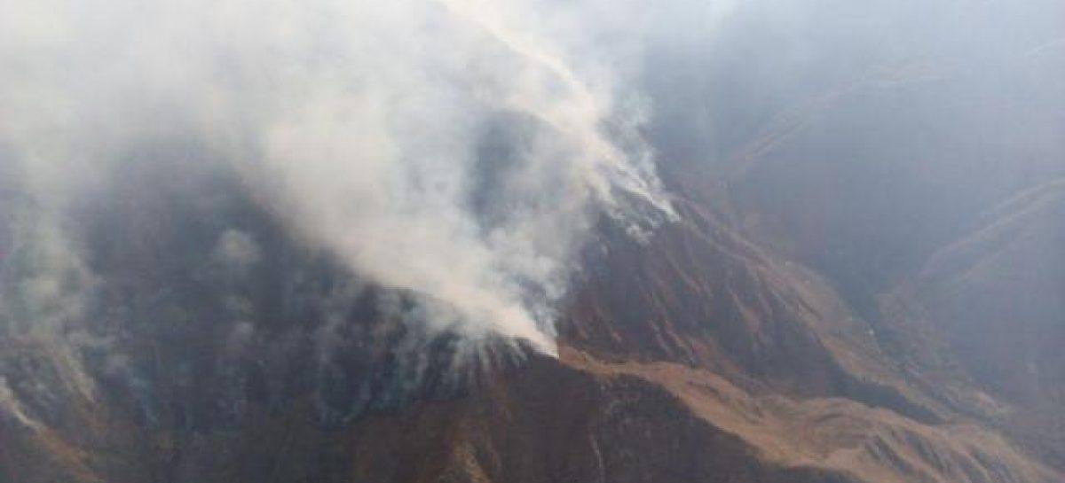 Finalmente fue controlado el incendio forestal en Castro Barros