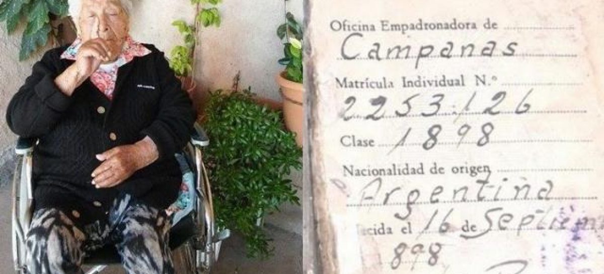 Murió una riojana considerada la mujer más longeva del mundo
