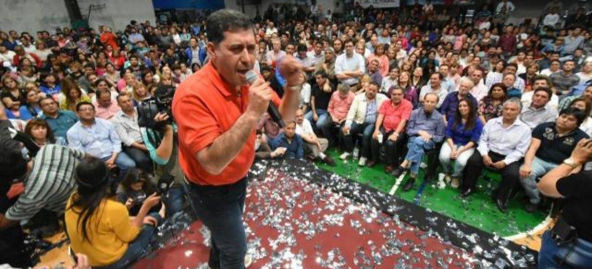 El jueves Sergio Casas será proclamado candidato a diputado nacional