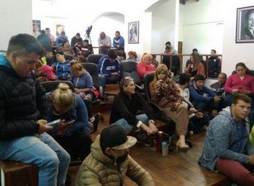 Una toma en el Concejo Deliberante impidió la sesión