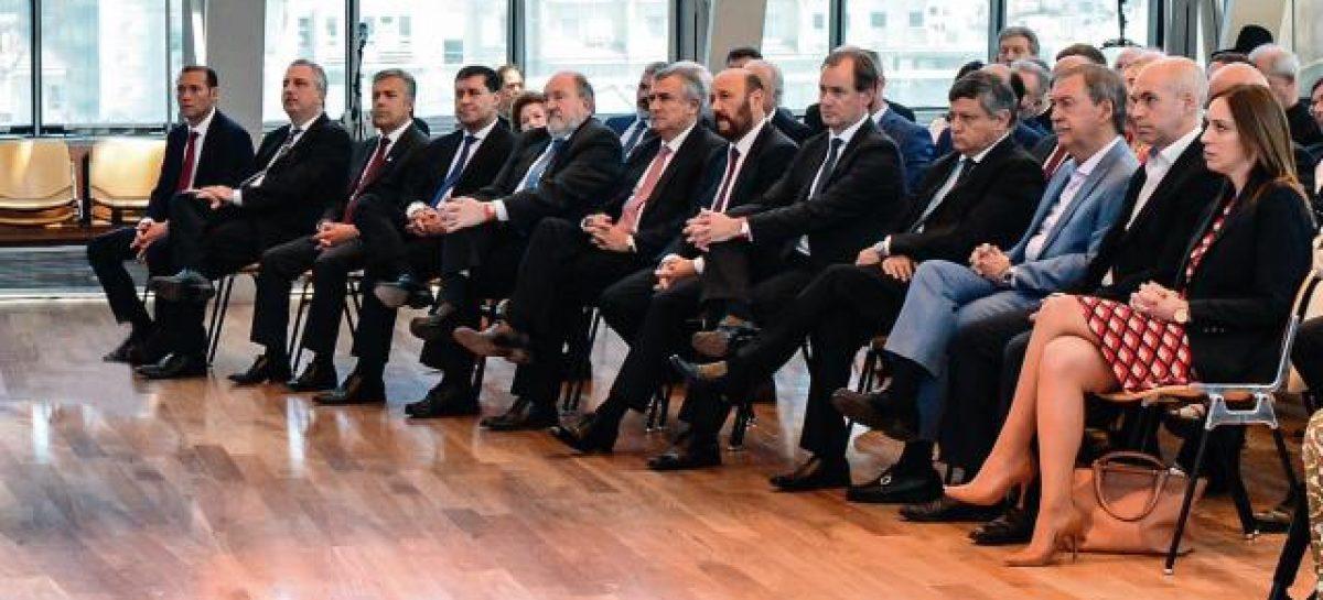 Macri se reúne con los gobernadores por el Presupuesto 2019