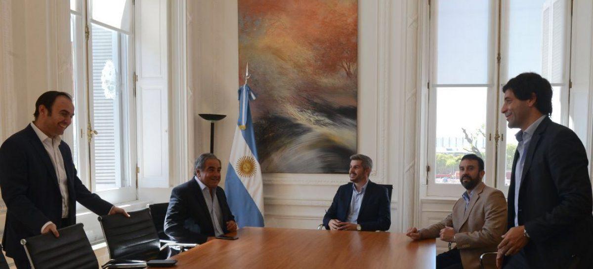 Felipe Alvarez con un 'peso pesado' de Nación