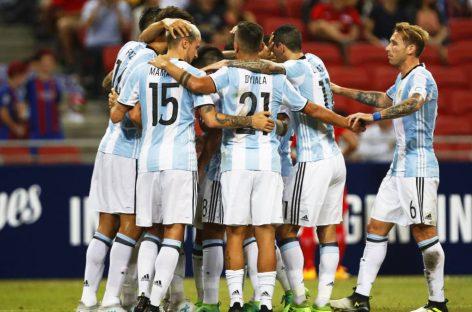 Sin Messi, Argentina disputa un amistoso con España