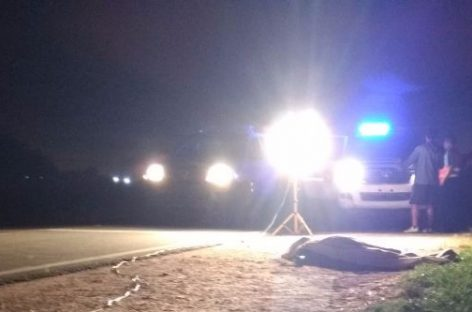 Un ciclista murió atropellado por una 4×4 en ruta 38