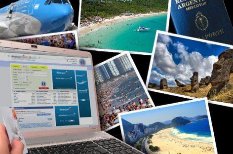 Arrancó la gran barata de turismo por Internet