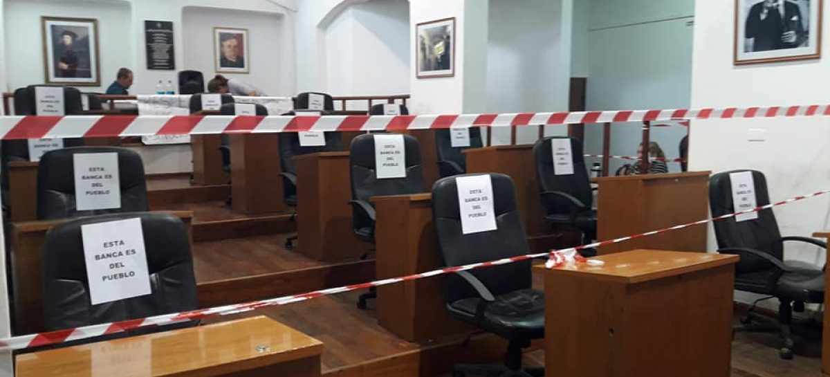 El Concejo Deliberante paralizado hasta que se expida la justicia