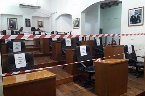 Se levantó la toma del Concejo Deliberante capitalino