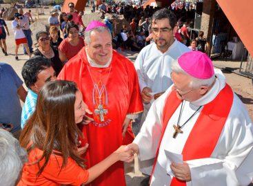 Señor de la Peña. El obispo rechazó el aborto y lanzó dardos a Nación