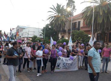 Las mujeres riojanas reclamaron por igualdad y derechos