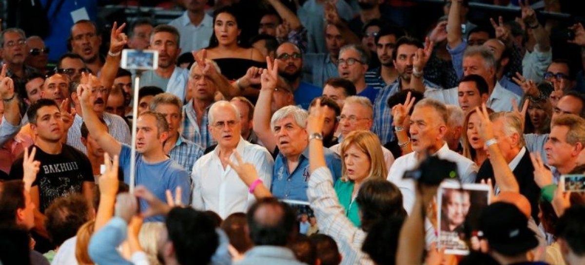 """Moyano, desafiante: """"Que se prepare Macri, en 2019 gana el peronismo"""""""