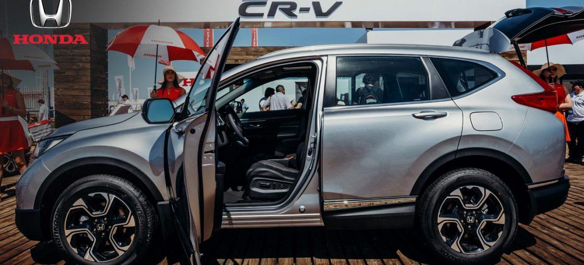 Honda presentó la nueva CR-V: más espacio y equipamiento
