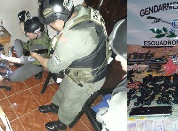 Gendarmería desbarató kiosco de droga en barrio 20 de Mayo