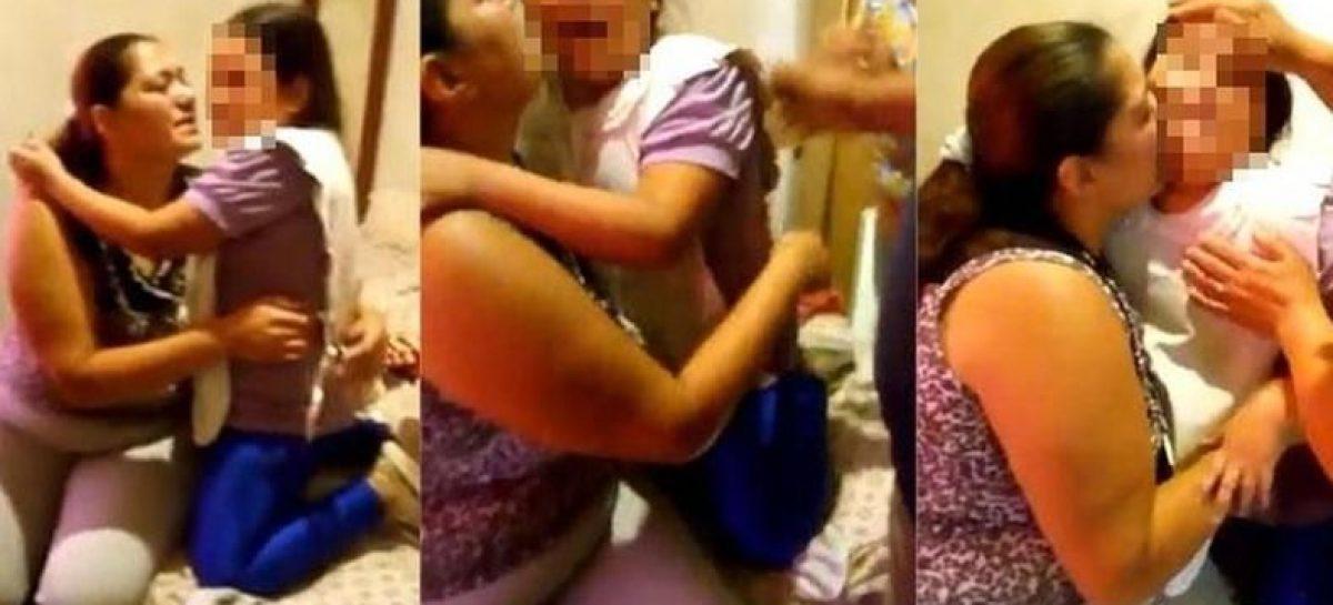 """Desgarrador llanto de una nena que sufre bullying: """"yo soy gorda"""""""