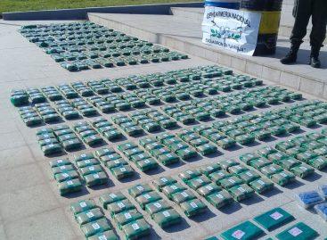 Incautan 218 kilos de hojas de coca: un detenido