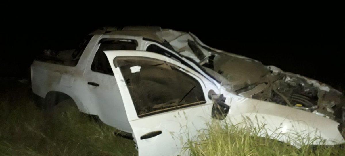Terrible accidente dejó dos personas graves y un caballo muerto