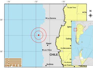 Un sismo 6.2 sacudió fuerte Chile y repercutió en La Rioja