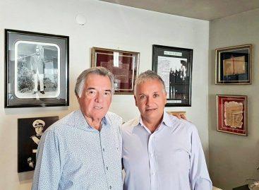 Bosetti se reunió con el interventor del PJ Nacional