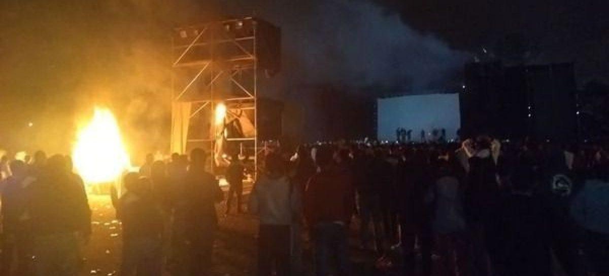 Castro Producciones sufrió vandalismo en frustrado show de Viejas Locas