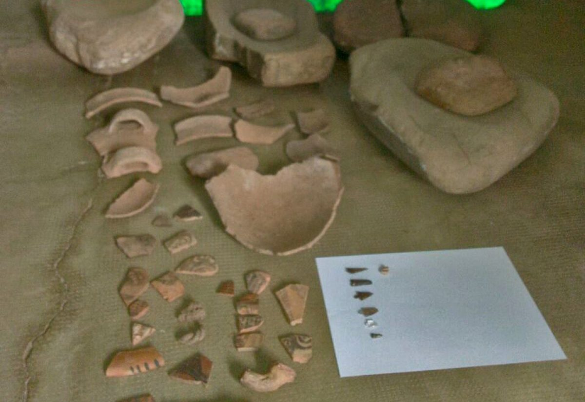 Vinchina. Restos arqueológicos que datan de miles de años encontrados en Vinchina por Gendarmería
